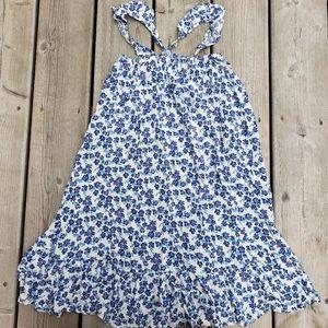 NWOT Harper canyon floral ruffle trim dress